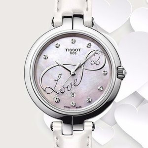 EXTRA $40 OFFTISSOT  Flamingo Ladies Watch T0942101611101