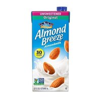 Blue Diamond Almonds Almond Breeze 无糖杏仁奶 12盒装