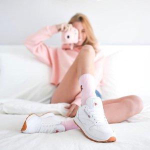 一律6折+折扣区额外5折Reebok官网 男女款运动鞋、运动服饰好价收