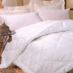 As Low As $66.14Silk-filled Damask Stripe 260 Thread Count Comforter