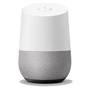 Google Home Smart Speaker White Slate