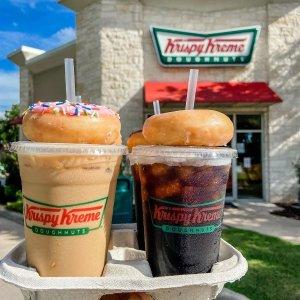 免费领咖啡+甜甜圈限今天:Krispy Kreme National Coffee Day 会员独享福利