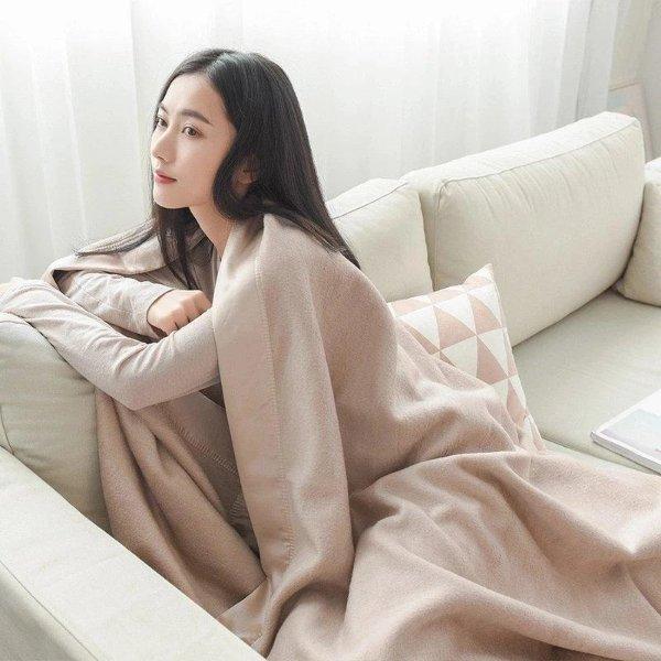 轻奢丝绸毯子