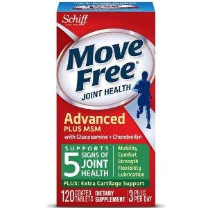 买1送1 可混合搭配Walgreens 保健品促销热卖,Move Free等多品牌参加