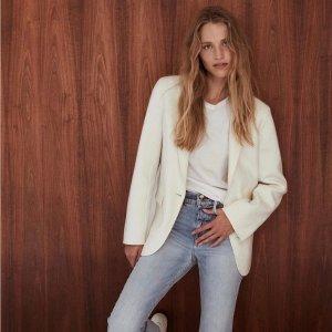 低至4折Intermix 大牌美衣热卖 收花朵连衣裙、Frame牛仔裤