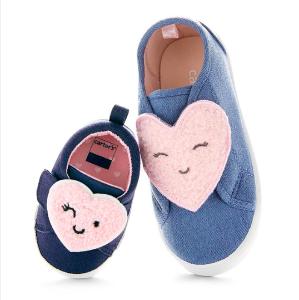 包邮+5折+满$40额外8折+满$25就返$10折扣升级:Carter's官网 新款童鞋价格再降
