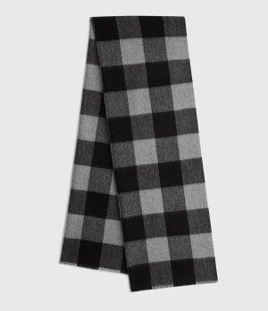 ALLSANTS 格子羊毛围巾