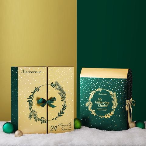 €24.99起 低至2.6折上新:Marionnaud 2020圣诞日历登场 2款可选内容惊喜