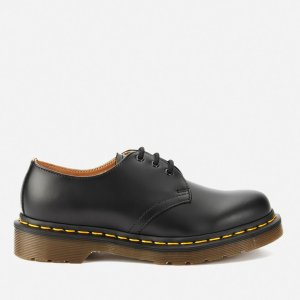 Dr. Martens1461 Smooth Leather 3-Eye Shoes - Black