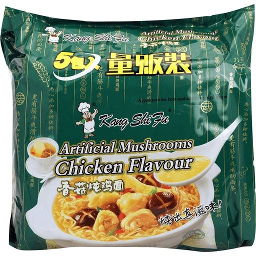 袋装香菇炖鸡面