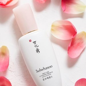 Get $350 Value GiftsDealmoon Exclusive: Sulwhasoo First Care Collection Sale
