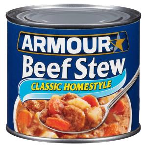 $16.81 一罐$1.4Armour Star 土豆胡萝卜炖牛肉罐头20oz 12罐