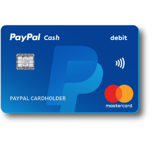 Get instant access to the funds in the PayPal account with the PayPal Cash CardPayPal Cash Card