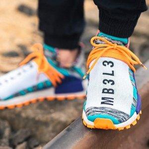 $30起 任意单免邮补货:adidas 菲董联名限量NMD潮鞋、潮服 速抢Human Race系列