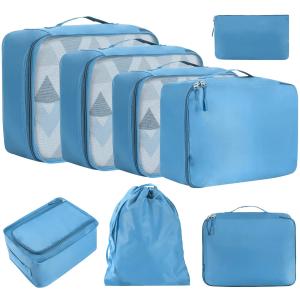8件套€13.99 体积小、容量大Eono 衣物收纳袋 分类收纳神器 出门旅行必备 搬家、换季都可以