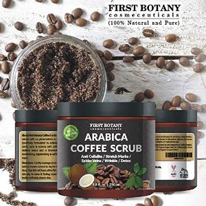 7折 收咖啡磨砂膏限今天:First Botany 身体护理产品热卖