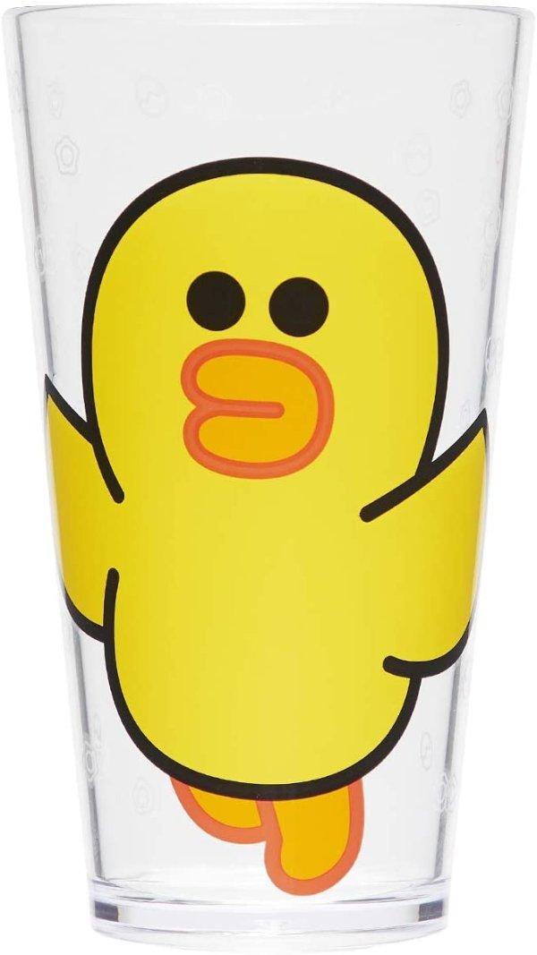 莎莉鸡 布朗熊 塑料水杯 18.5盎司 2个装