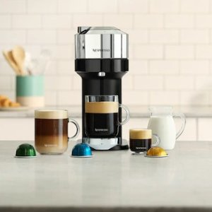 NespressoVertuo Next咖啡机 纯铬色