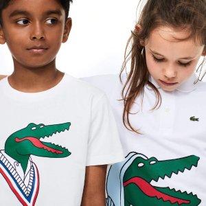 Lacoste x Jean-Michel 合作儿童T恤