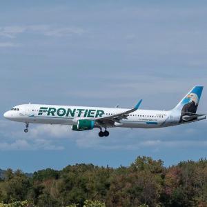单程机票$16起Frontier Airlines 精选机票大促 百万座位参与折扣