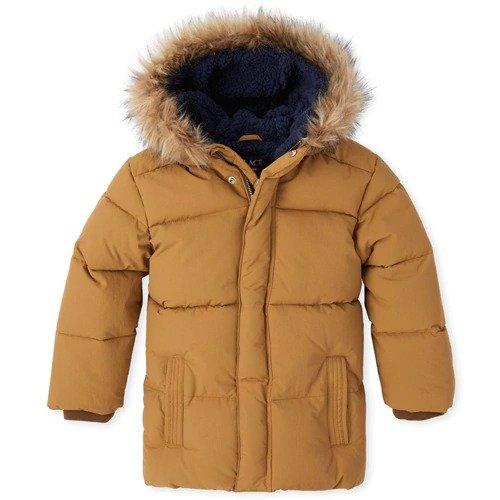男孩保暖外套