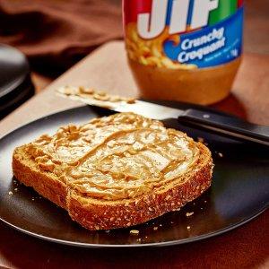 $4.72(Loblaws$6.99) 1KGJif 花生酱热卖 早餐吐司搭档 奶油、香脆多口味