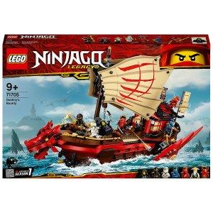 史低价:LEGO Ninjago系列 命运赏金号 71705