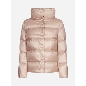 MonclerAude short quilted nylon down jacket
