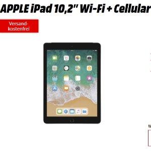 包月4GB LTE 月租19.99欧iPad WiFi+4G 2019版  一次性购机费1欧,送一年Apple TV+