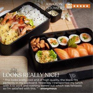 现价€29.99(原价€50)Umami 精致日式便当盒超值收 颜值爆表