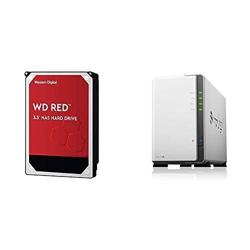 WD 4TB 红盘 ×2 + Synology DS218j  2盘位 NA