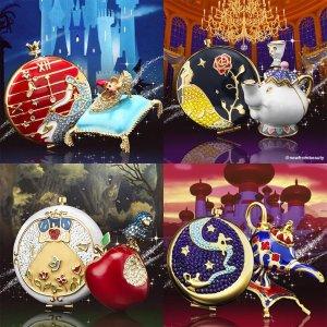 粉饼$175 香水$250起Estee Lauder X Disney公主 圣诞系列 北美抢先上市