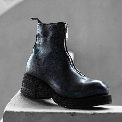 低至6折 冰川蓝$1600Guidi 短靴界的顶端 百搭神器 白富美女孩人手一双