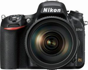 Nikon D750 DSLR + 24-120mm f/4G ED VR Lens