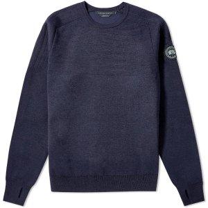 Canada GooseBlack Label 黑标针织衫