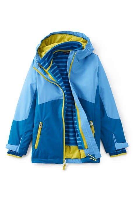女童三合一外套