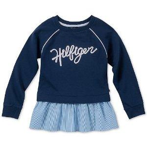 低至$6.93 封面连帽衫$26.99包邮Tommy Hilfiger 儿童服饰、鞋履限时特卖