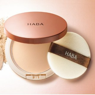 2个直邮美国到手价$58.8HABA 无添加 花之晨恋蜜粉饼 保湿控油 孕妇敏感肌可用