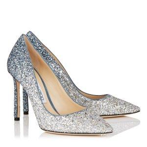6折+免邮!£210就收Jimmy Choo官网 细闪亮片鞋专场 传说中的水晶鞋