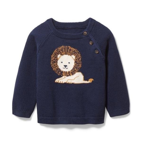 男小童针织衫