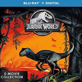 $27.99 (原价$54.96)限今天:《侏罗纪世界》系列5部蓝光电影合集
