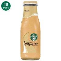 Starbucks Frappuccino 香草星冰乐咖啡 15瓶