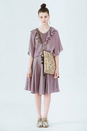 玫紫蓟礼服套