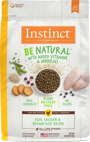 Instinct by Nature's Variety Be Natural Real Chicken & Brown Rice Recipe Dry Dog Food