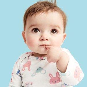 三件套$9 包臀衫5件$10Carter's官网 婴儿服饰Baby Boom最后一日升级闪购