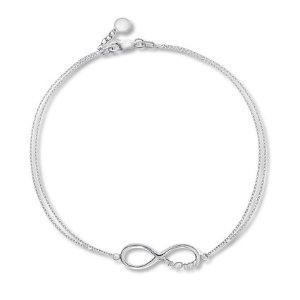 Infinity Mom Sterling Silver Bracelet