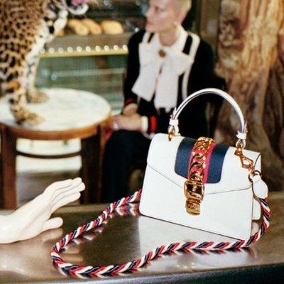 直邮退税17% £162收Gucci 小卡包