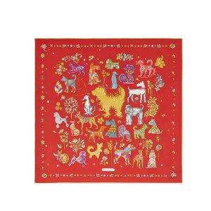 中国红方巾