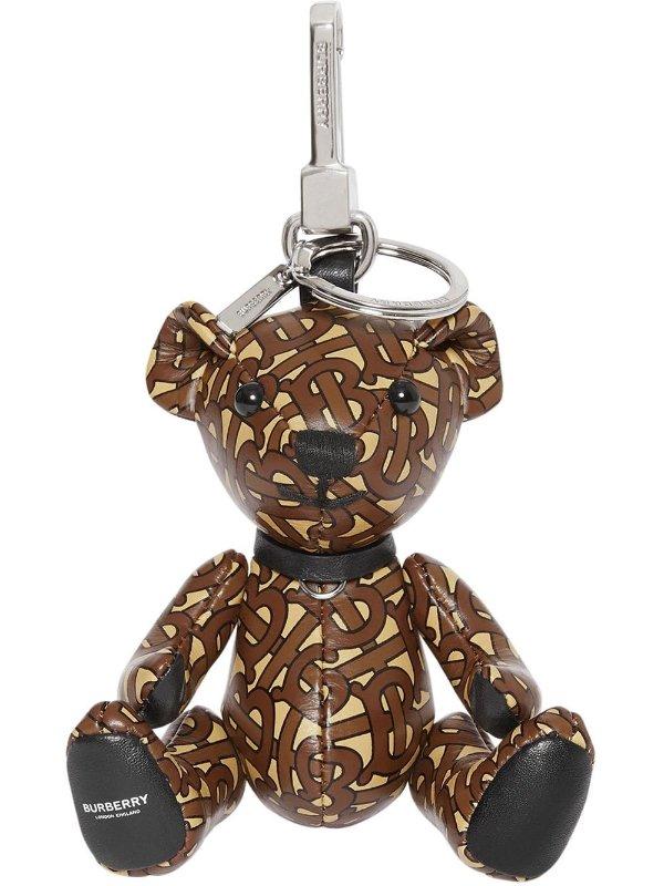 经典logo款小熊吊饰