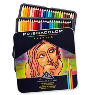 $34.99(原价$80.52)Prismacolor Premier 48色软芯彩色铅笔